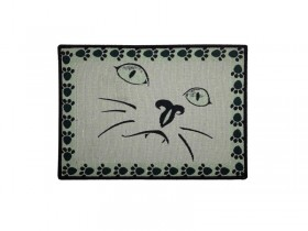 Place Mat Cat Face