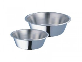 Standard Feeding Dish High Gloss finish is easy to clean.
