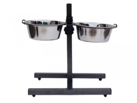 Adjustable Double Diners Heavy base adjustable height double diners