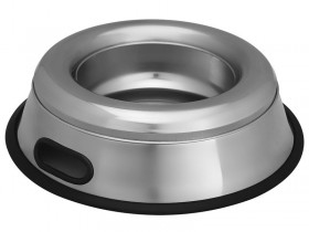 Spill Proof/Splash Free Non-Tip Dish Designed with removebale cover to prevents spills